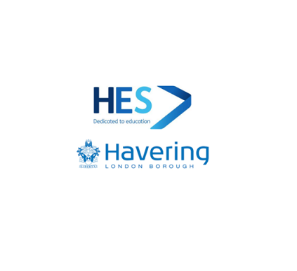 HES and Havering Logo